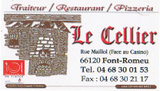 Restautant LE CELLIER